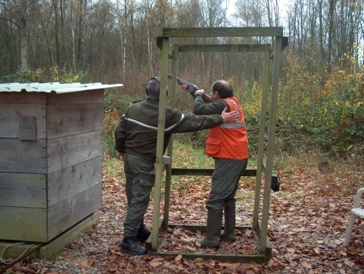 Photo Formation de permis de chasser